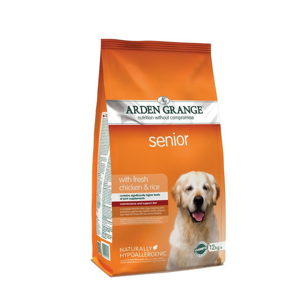 Arden Grange Senior Chicken & Rice Dry Dog Food