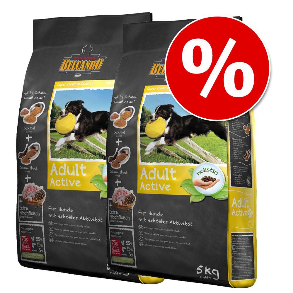 Ekonomipack: 2 påsar Belcando torrfoder för hund - Junior Grain Free (2 x 12,5 kg)