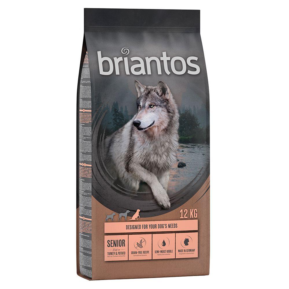 Briantos Senior dinde, pommes de terre - SANS CÉRÉALES pour chien - 12 kg