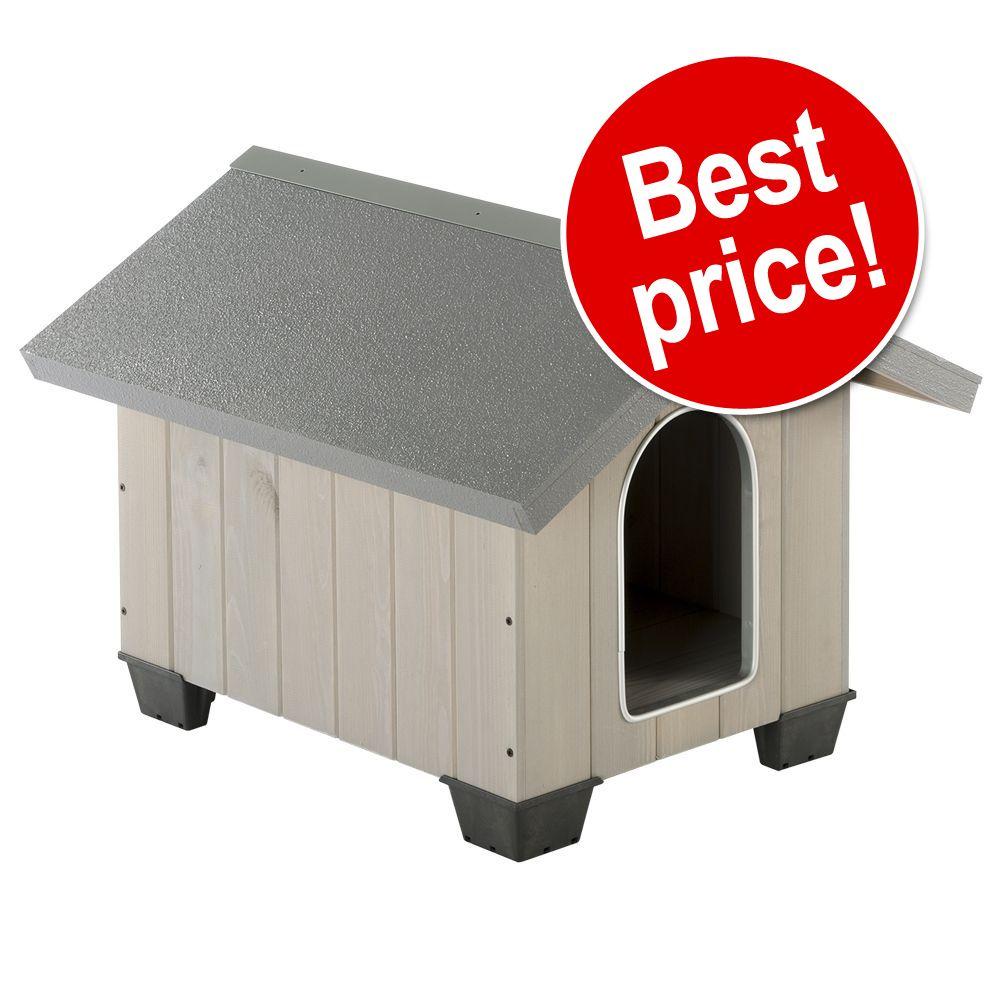 Foto Cuccia per cani Ferplast Domus - M: L73 x P85 x H67,5 cm Con tetto a spioventi