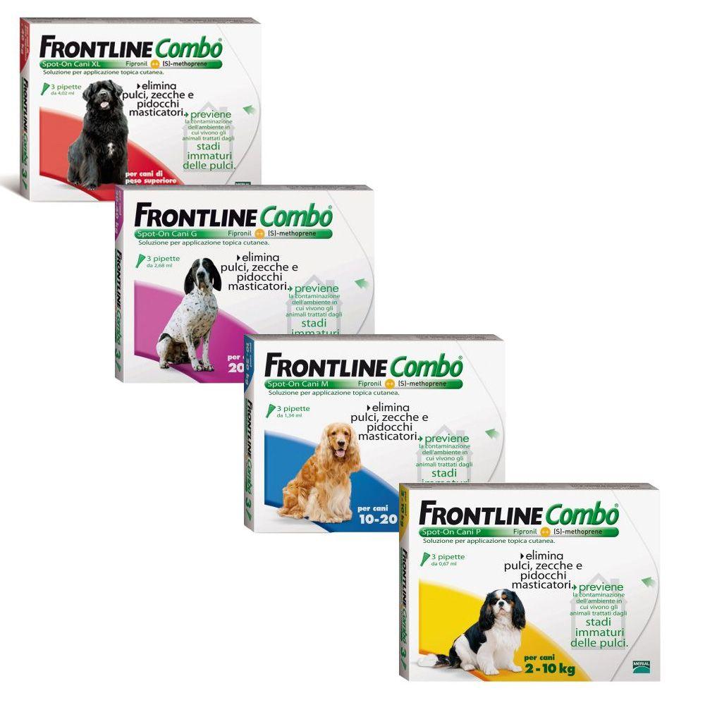 Foto Frontline Combo Spot on Cani - P (peso 2 - 10 kg) - 3 pipette da 0,67 ml