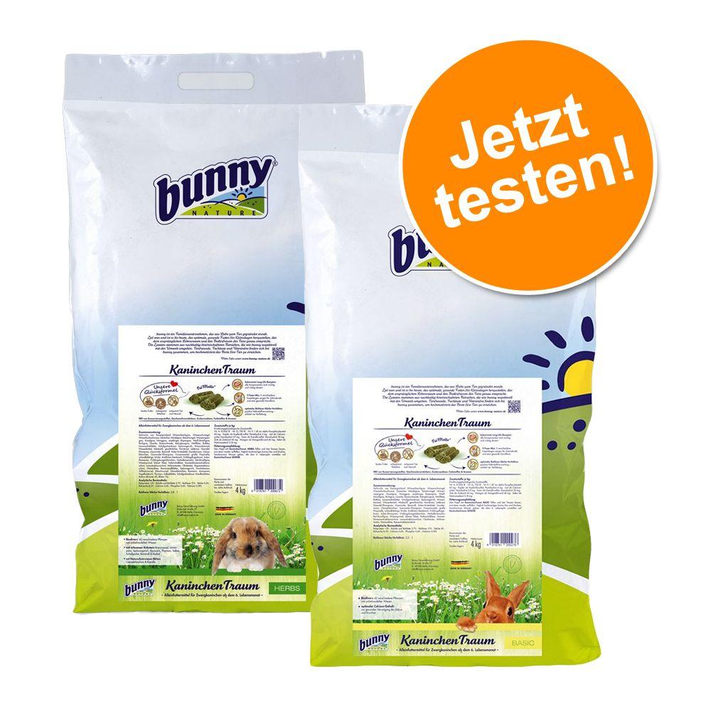 Gemischtes Paket Bunny KaninchenTraum - 4 x 4 kg HERBS & BASIC