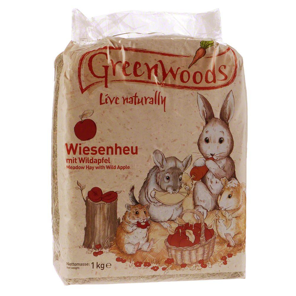 Greenwoods ängshö – Vildäpplen – Maskros 3 kg