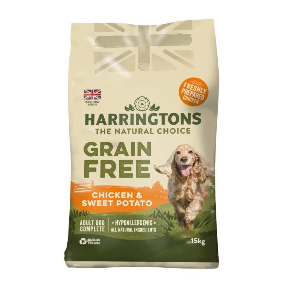 Harringtons Grain-Free Hypoallergenic - Chicken & Sweet Potato - 15kg