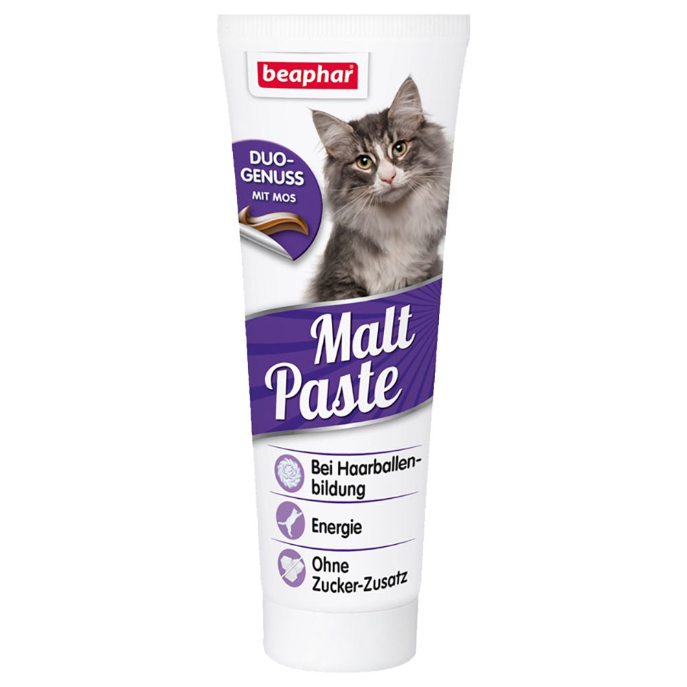 Hairball Malt Paste beaphar Cat Snacks