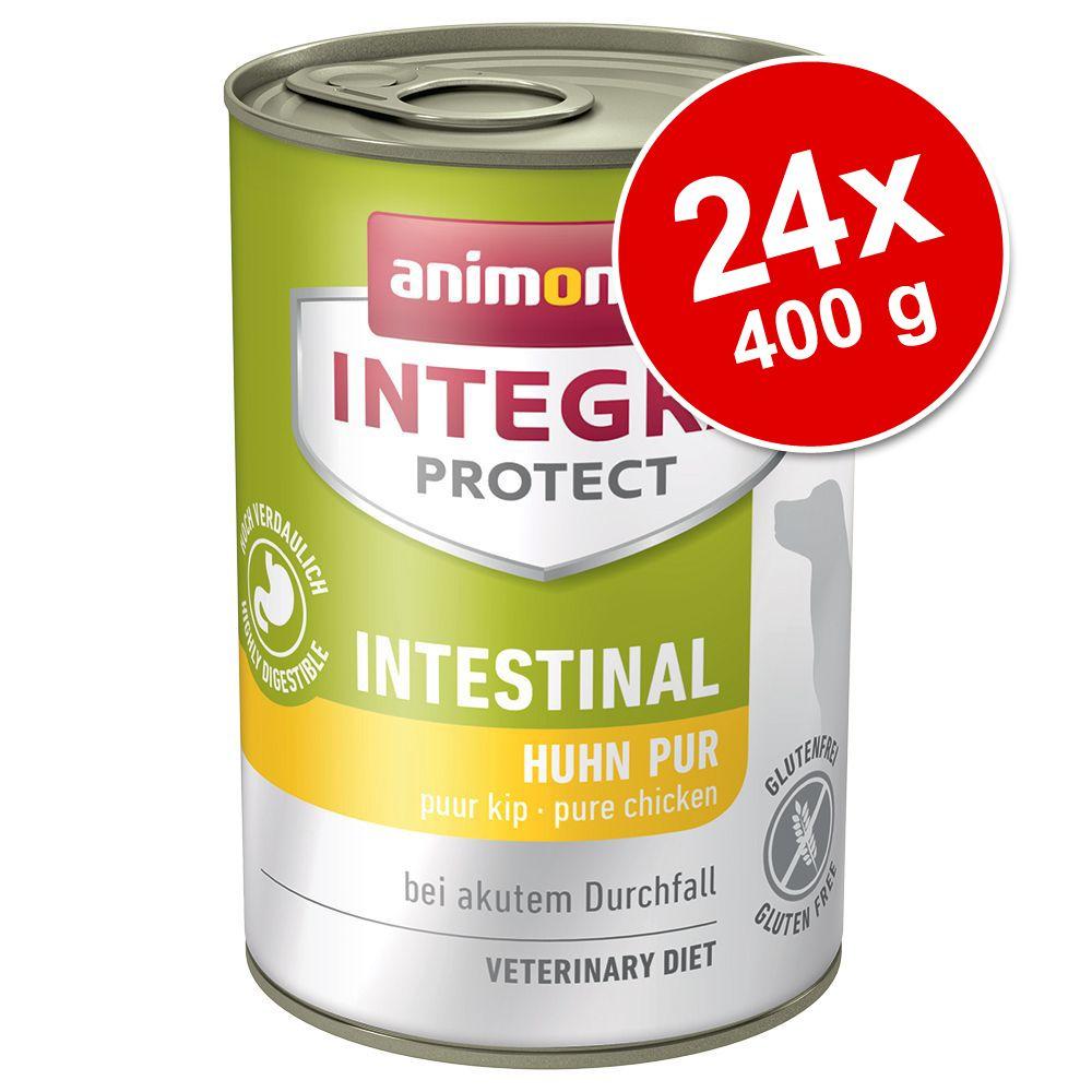 Ekonomipack: 24 x 400 g Animonda Integra Protect i konservburk – Adipositas Nötkött