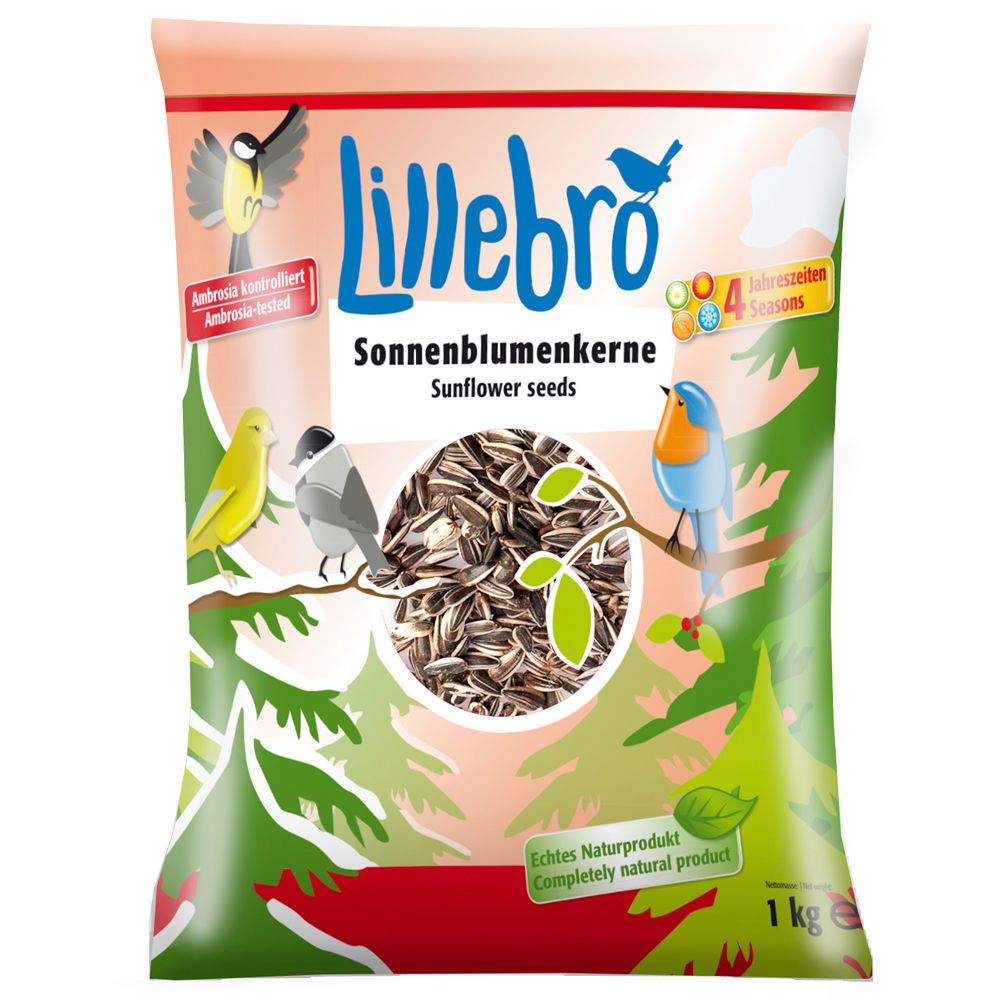 3kg Lillebro Sunflower Seeds for Wild Birds