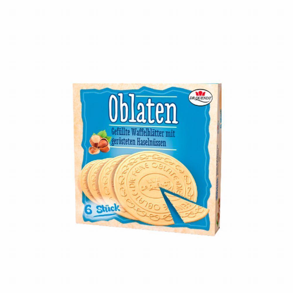 11 x 150 g Dr. Quendt Oblaten Haselnuss 4013392031077