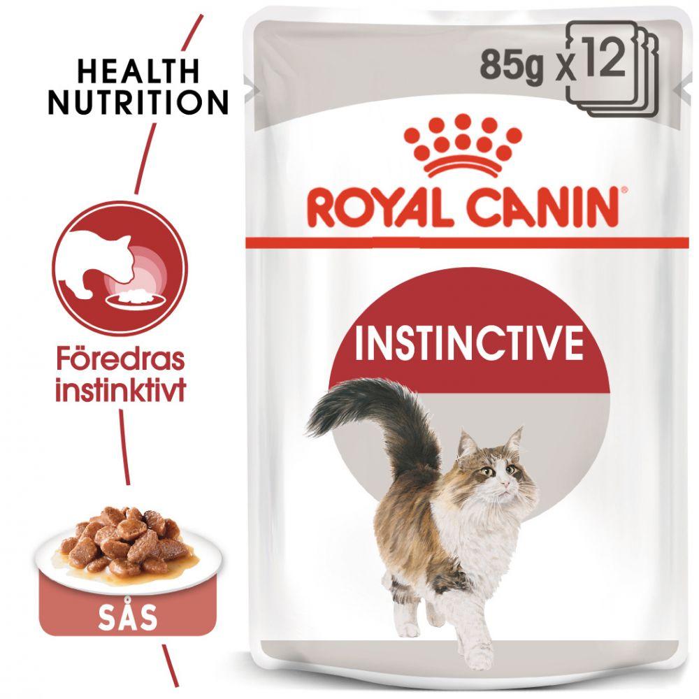 Royal Canin Instinctive i sås - 12 x 85 g