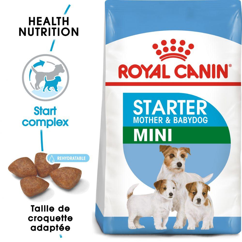 Royal Canin Mini Starter Mother & Babydog pour chien - 2 x 8,5 kg