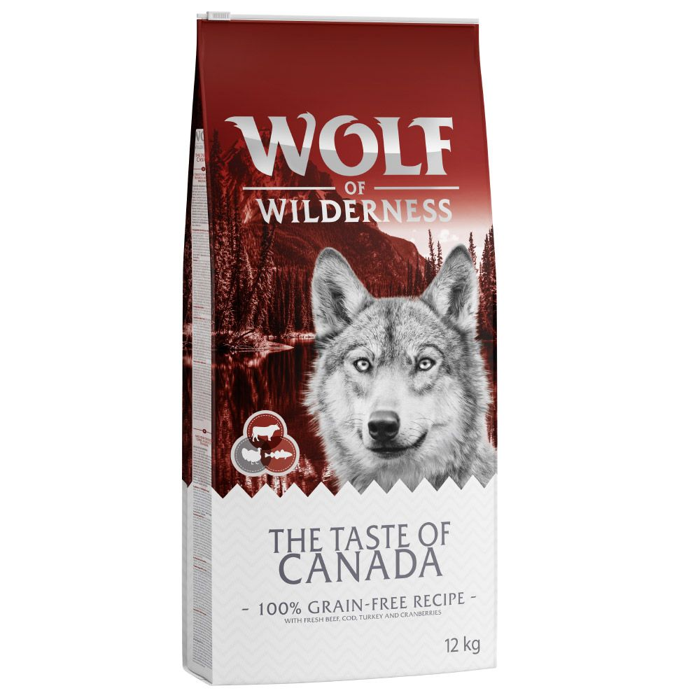 Beef Taste of Canada Wolf of Wilderness Dry Dog Food