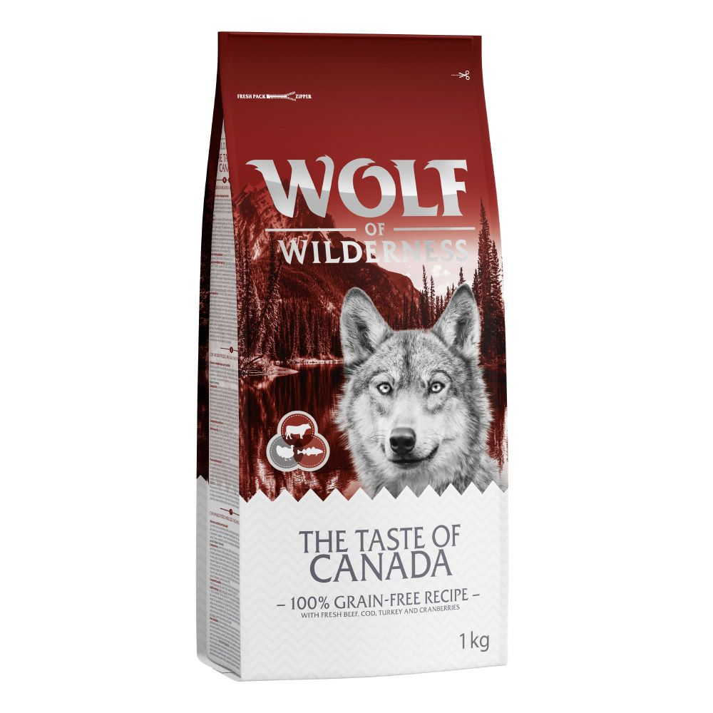 Wolf of Wilderness Trial Pack - Dry Wet Food 3 x 1kg
