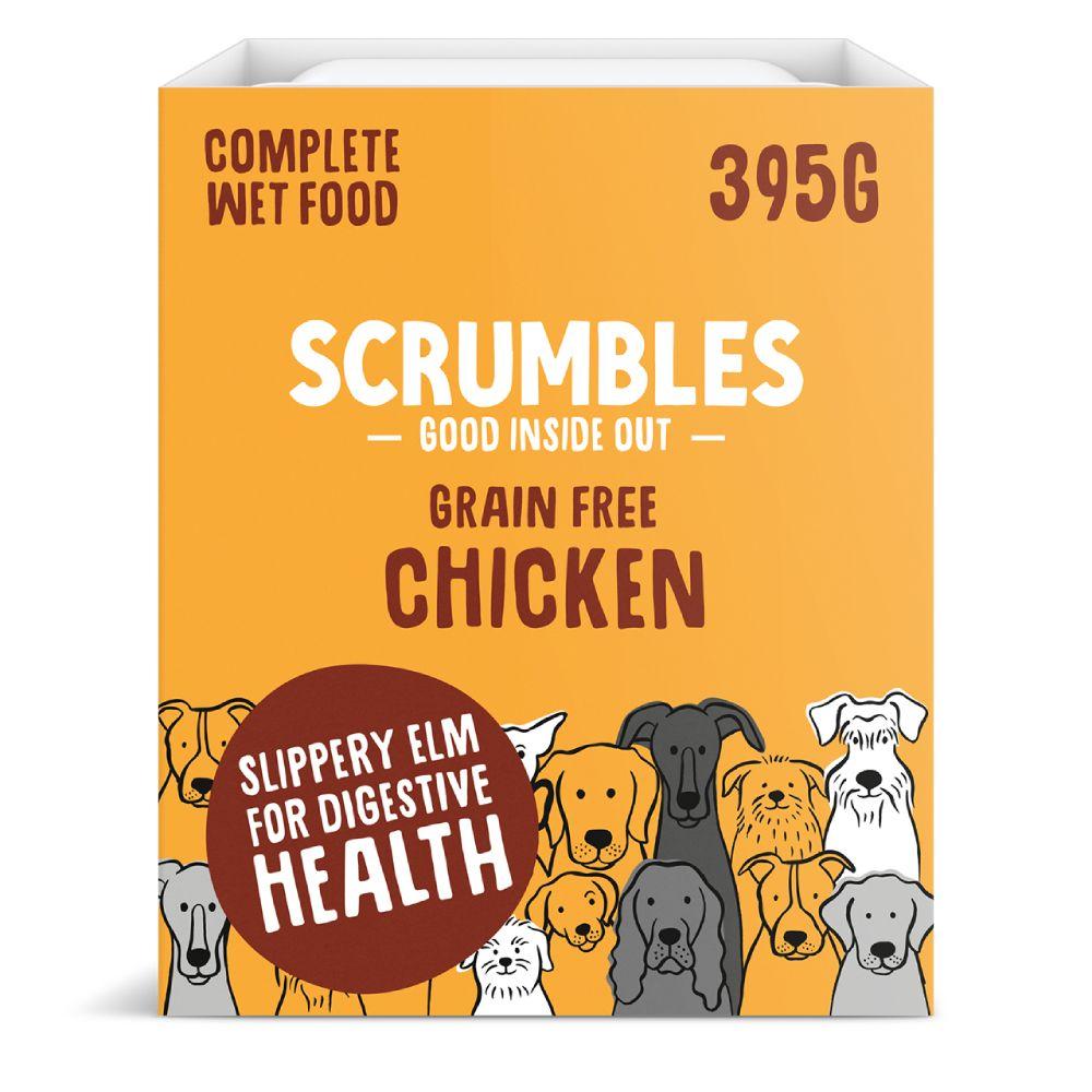 Scrumbles Grain Free Chicken Wet Dog Food - 7 x 395g