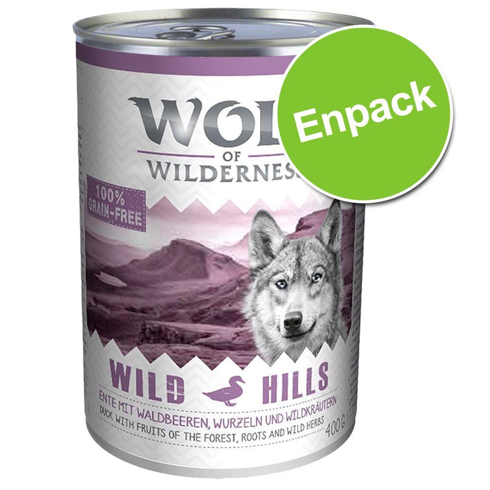 Wolf of Wilderness 400 g - Wild Hills - Duck