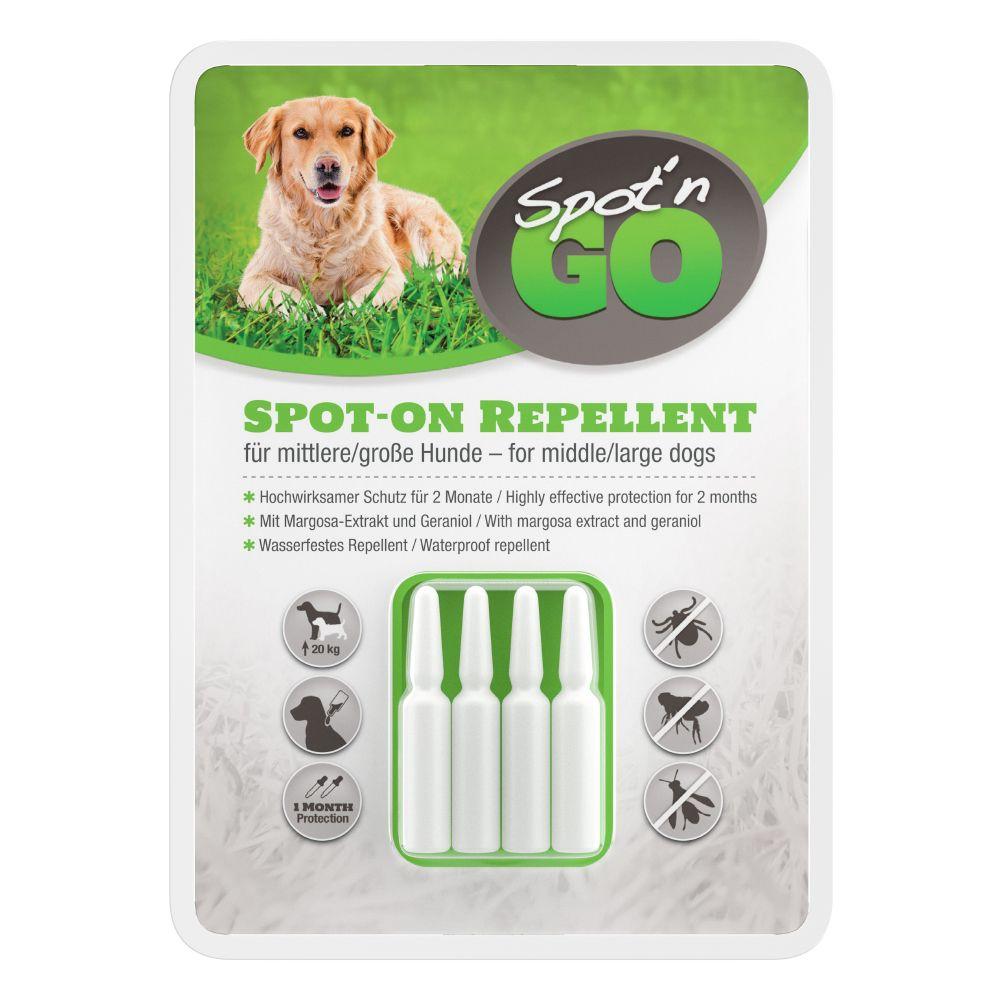 Répulsif Spot'n Go 2 applications pour petit chien (2 pipettes de 1,5 ml) - pour chien