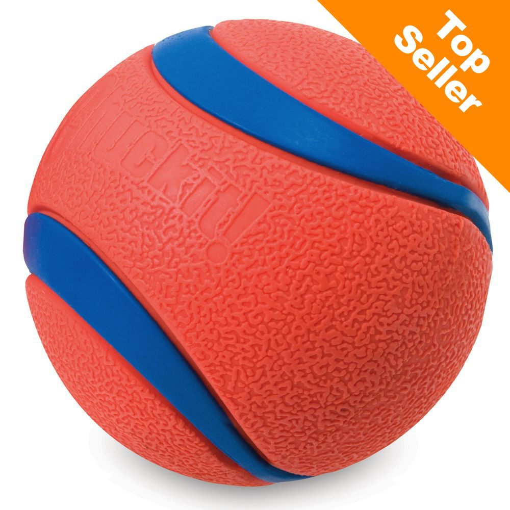 Chuckit! Ultra Ball - 2 st Ultra Ball stl. M: ca Ø 6,5 cm