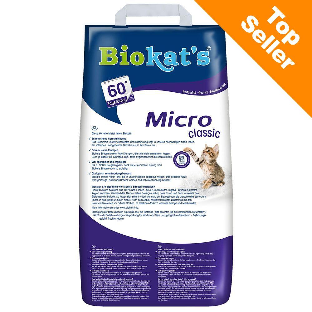 Image of Lettiera Biokat's Micro - Set %: 2 x 14 l