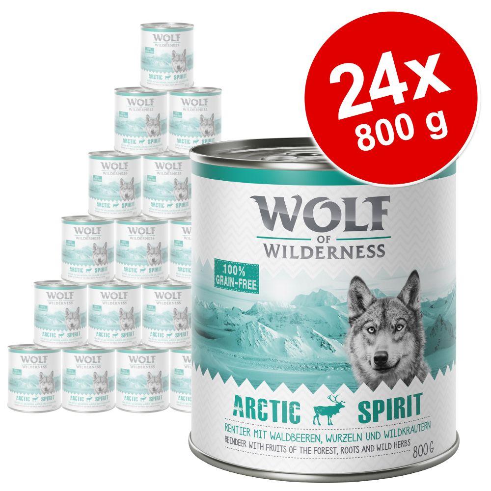 Sparpaket Wolf of Wilderness Adult 24 x 800 g -...