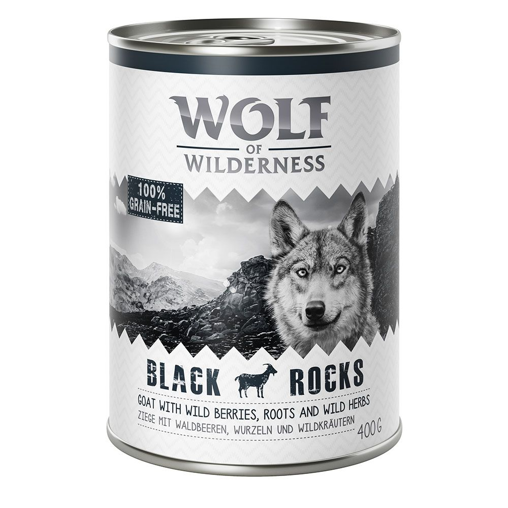 Pork Adult Strong Lands Wolf of Wilderness Wet Dog Food