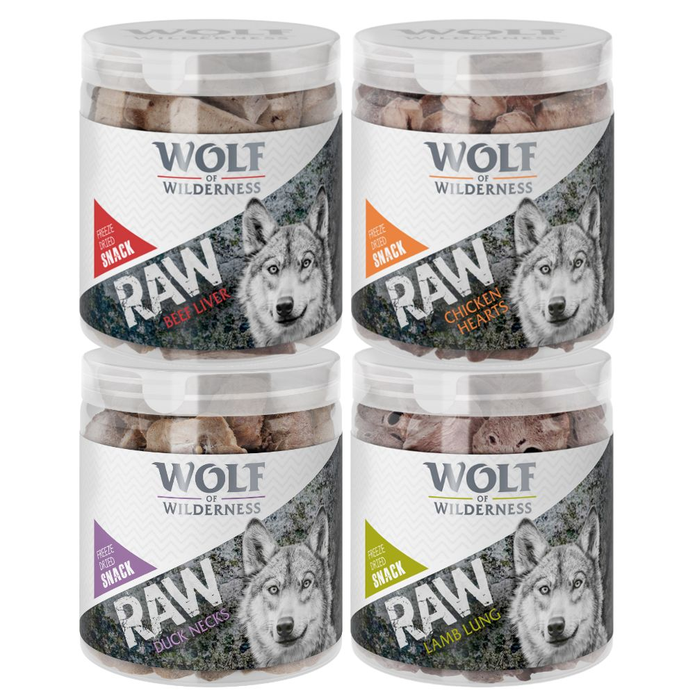 Salmon Fillet Freeze-dried Wolf of Wilderness Premium Dog Snacks