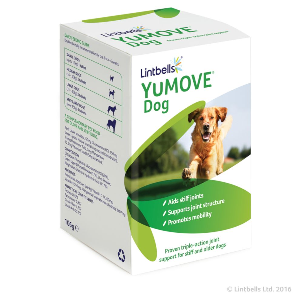 Lintbells YuMOVE Dog Supplement 300 + 20% EXTRA (360 tablets)