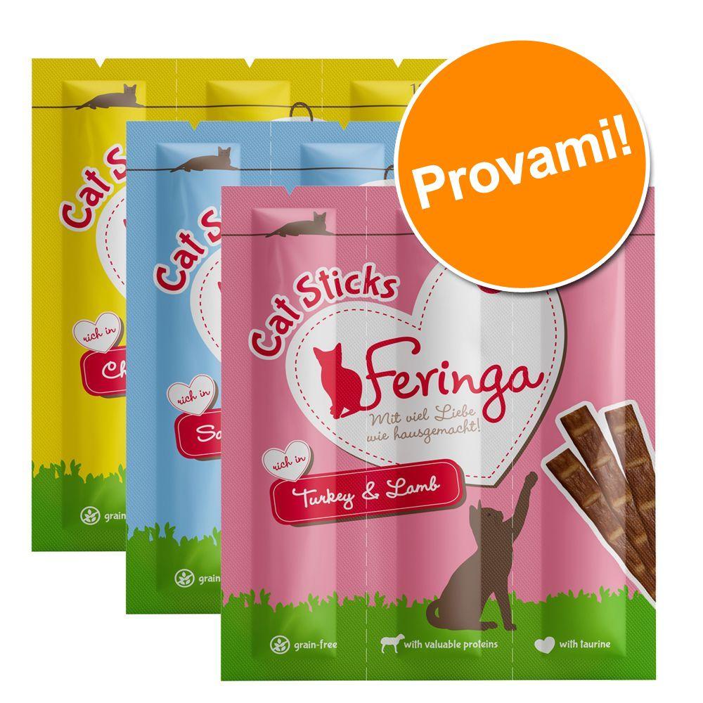Image of Prezzo speciale! 36 x 6 g Feringa Sticks - Tacchino & Agnello