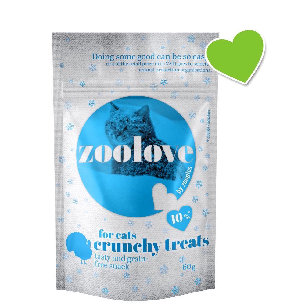 zoolove crunchy treats för katter - Winter Edition - 60 g