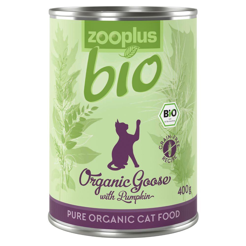 zooplus Bio Eko-gås med pumpa - 6 x 85 g portionspåse