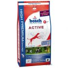 Bosch Active dog food is the ideal food for dogs with increased performance levels whether in play sport show or in working activities such as hunting herding or p...