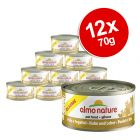 INOpets.com Anything for Pets Parents & Their Pets Almo Nature Classic Saver Pack 12 x 70g - Chicken & Liver