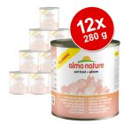 INOpets.com Anything for Pets Parents & Their Pets Almo Nature Classic Saver Pack 12 x 280g - Chicken & Whitebait