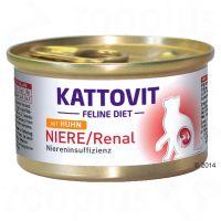 Kattovit Niere/Renal (Niereninsuffizienz) Nassfutter - 12 x 85 g Huhn Preisvergleich
