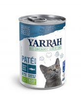 Yarrah biologisch kattenvoer paté 6 x 400 g Vis