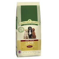 Special offers on James Wellbeloved Dry Dog Food Economy Packs - Junior Large Breed Lamb & Rice 2 x 15kg