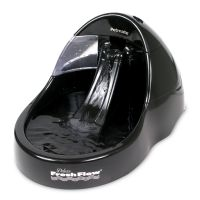Fresh Flow Deluxe Cat Water Fountain - Black - Replacement Pump