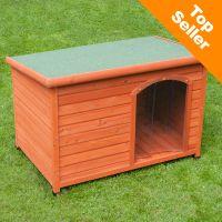 Cuccia per cani woody con porta - - l115 x p76 x h80 cm.