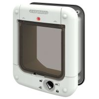 Cat Mate Microchip Cat Flap (360W) - Wall Liner Tunnel Extension white (308)