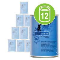 Catz Finefood Voordeelpakket Kattenvoer 12 x 400 g Lam & Konijn
