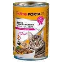 Sparpaket Feline Porta 12 x 400 g - Thunfisch mit Shrimps