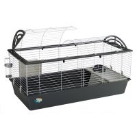 Ferplast Casita 120 Rabbit Cage - Grey: 119 x 58 x 61 cm (L x W x H)