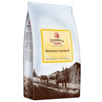 Stephans Muhle Horse Treats - Banana - Saver Pack: 3 x 1kg