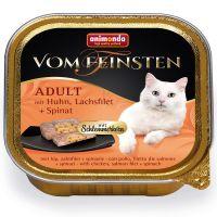 Animonda vom Feinsten Adult Tasty Fillings 6 x 100g - Turkey, Chicken Breast & Herbs