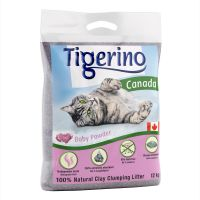 Tigerino Canada Cat Litter - Babypowder Scented - 12kg