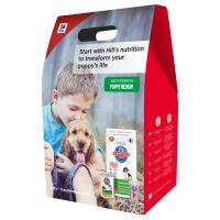 Hills Science Plan Medium Puppy Starter Kit - Medium Puppy Starter Kit: 1kg + (2 x 370g)