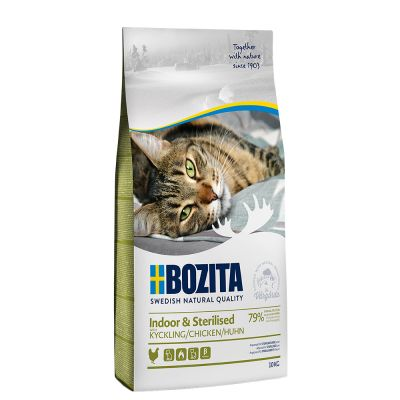 Bozita Feline Indoor & Sterilised - 10 kg
