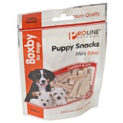 Boxby Puppy Mini Bites snacks para cachorros - 100 g