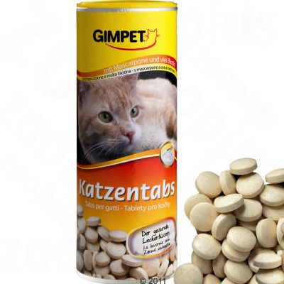 Gimpet Tabs med mascarpone + biotin – Ekonomipack: 3 x 350 st