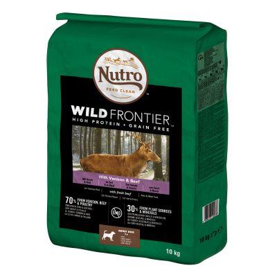 Nutro Wild Frontier Hund Adult Hirsch & Rind