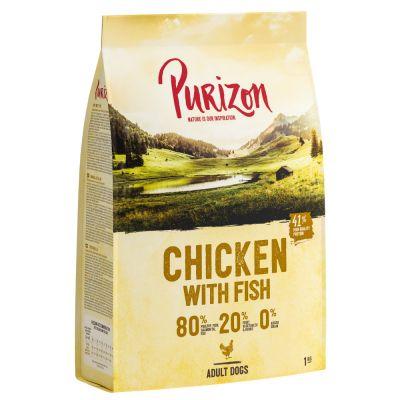 UUSI RESEPTI: Purizon Chicken & Fish Adult - viljaton - 4 kg