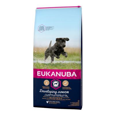 Eukanuba Developing Junior Large & Giant Breed Chicken - 15 kg